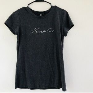 Kenneth Cole gray shirt size M